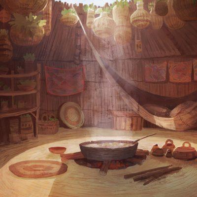 Hut_interior